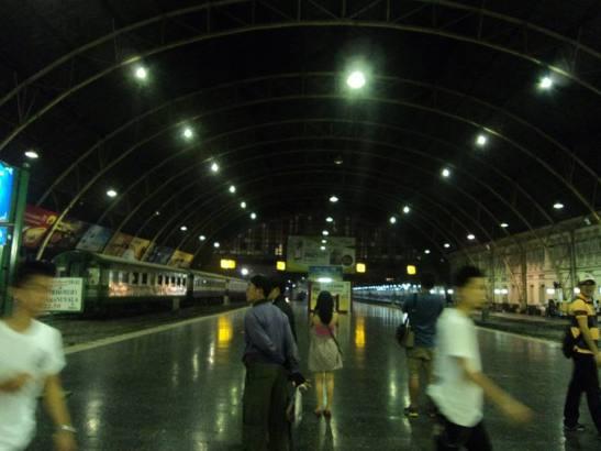 Hua Lamphong Railway Station, Bangkok, Thailand (2015)
