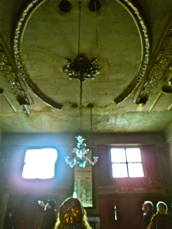 Chandelier at the Ballhaus
